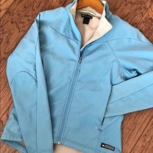 REI windbreaker fleece jacket